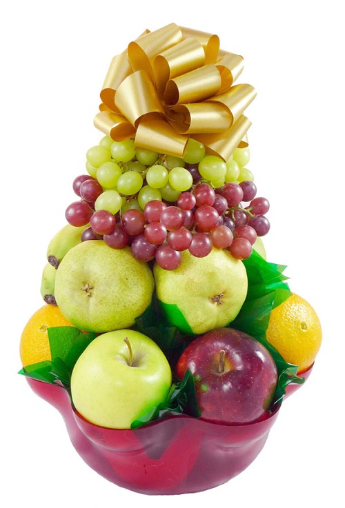 400 Basket with Fruit