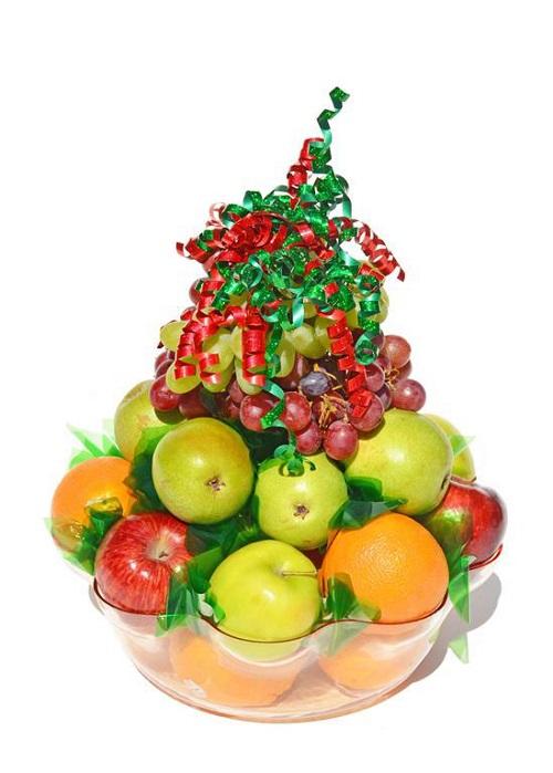600 Transparent Basket with Fruit