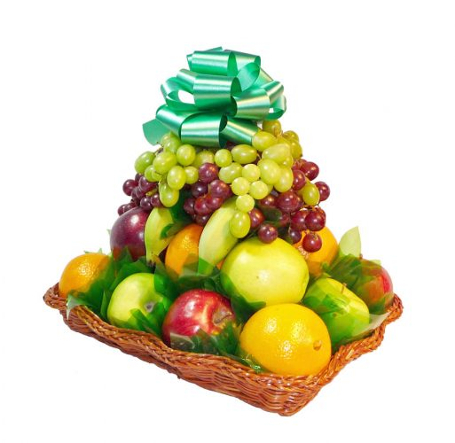 700 Wicker with Fruit